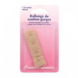 Rallonge de soutien-gorges - 19 mm - chair - Couture loisirs