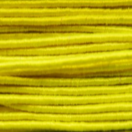 Cord 1 mm - fluorescent yellow