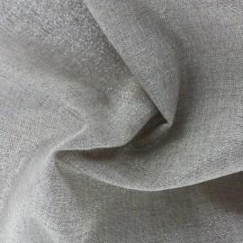 Tissu toile de coton Sparkling Christmas grande largeur (310cm) - argent x 10cm