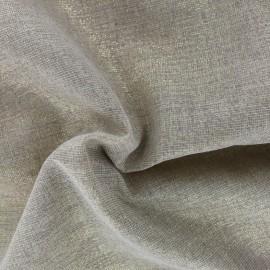Tissu toile de coton Sparkling Christmas grande largeur (310cm) - or x 10cm