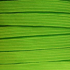 Elastique plat 6 mm Fluo vert