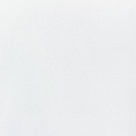 ♥ Coupon 100 cm X 320 cm ♥ Duna Polyester Fabric - white