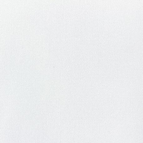 Tissu toile polyester Duna grande largeur (320cm) -  blanc x 10cm