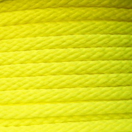 Color-fast Cord 5mm - Fluorescent yellow