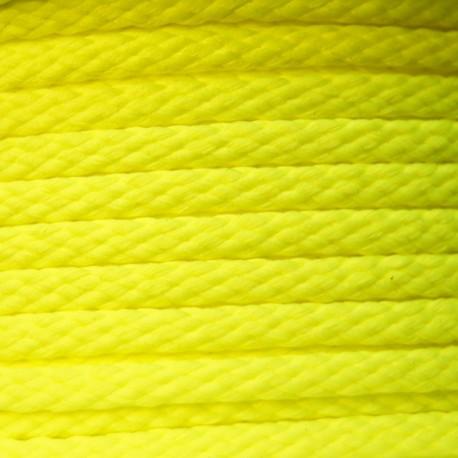 Cordon 5mm Fluo jaune