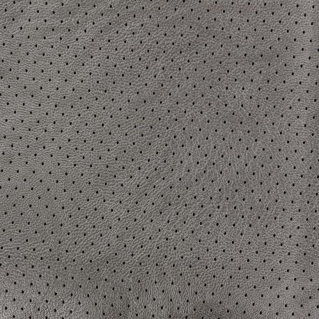 Simili cuir ajouré Chic Party - gris x 10cm