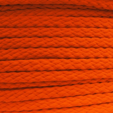 Cordon 5mm Fluo orange
