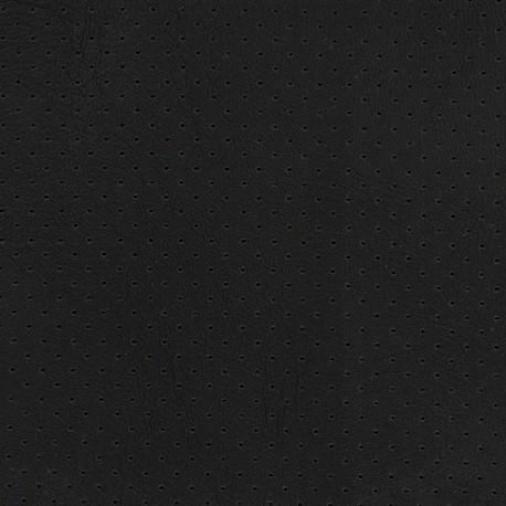 Simili cuir ajouré Chic Party - noir x 10cm