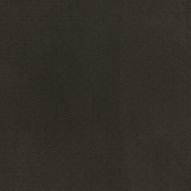 Simili cuir ajouré Chic Party - marron noir x 10cm