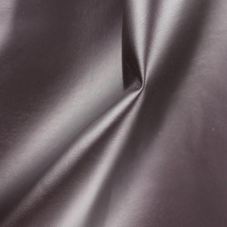 Simili cuir souple nacré - prune rouge x 10cm