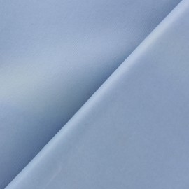 Pearly faux leather - periwinkle x 10cm