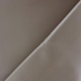 Simili cuir souple nacré - praline x 10cm