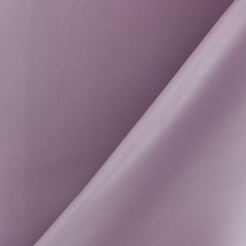 Pearly faux leather - mauve x 10cm