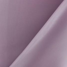 Simili cuir souple nacré - parme x 10cm