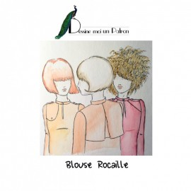 Sewing pattern Dessine moi un patron Blouse - Rocaille
