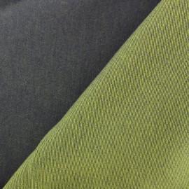 Autumn Jeans fabric - green brown x 10cm