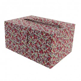 Boîte à couture Frou Frou Fleurs - Bordeaux Glamour