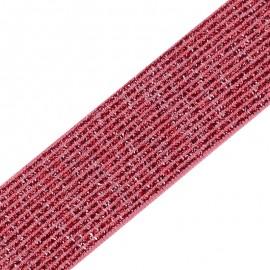 Ruban élastique lurex Brillantine (20mm) - candy x 1m