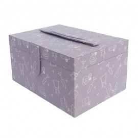 Sewing box Frou Frou I Love Couture - Purple