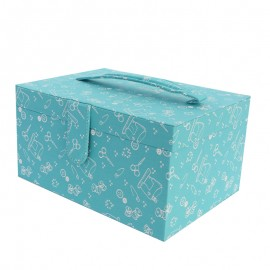 Sewing box Frou Frou I Love Couture - Green