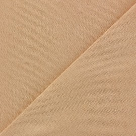 Thick Jersey Skin fabric for Dollmaking - peach x 10cm