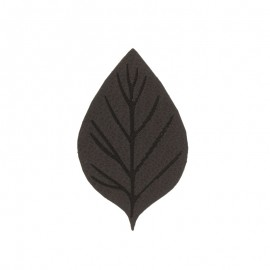 Thermocollant Feuille d'automne - marron