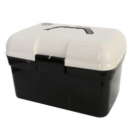 Boîte de rangement - noir/ecru