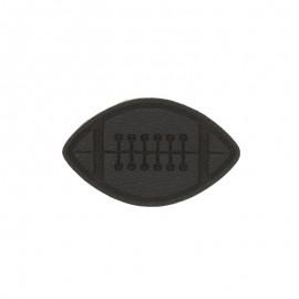 Thermocollant Ballon de rugby - noir