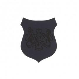 Blason Thermocollant Royals simili cuir - bleu marine