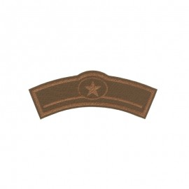 Thermocollant Super hero's belt simili cuir - marron