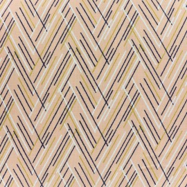 Dashwood cotton fabric Autumn Rain - Lines x 10cm