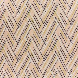 Tissu coton Dashwood Autumn Rain - lines x 10cm