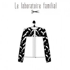 Patron Femme Le laboratoire familial veste - Colette