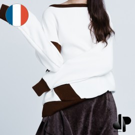 Sewing pattern DP Studio Asymmetric sweatshirt - Le 506