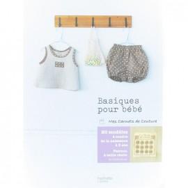 """Livre """"Basiques pour bébé - Mes carnets couture"""""""