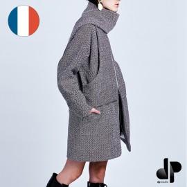 Patron Femme DP Studio Manteau écharpe - Le 204