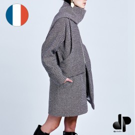 Sewing pattern DP Studio Coat with incorporated scarf - Le 204