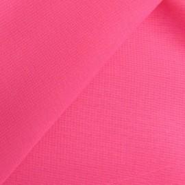 Tissu Mousseline rose poupée x 50 cm