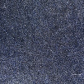 Tissu Feutrine chiné marine x 10cm