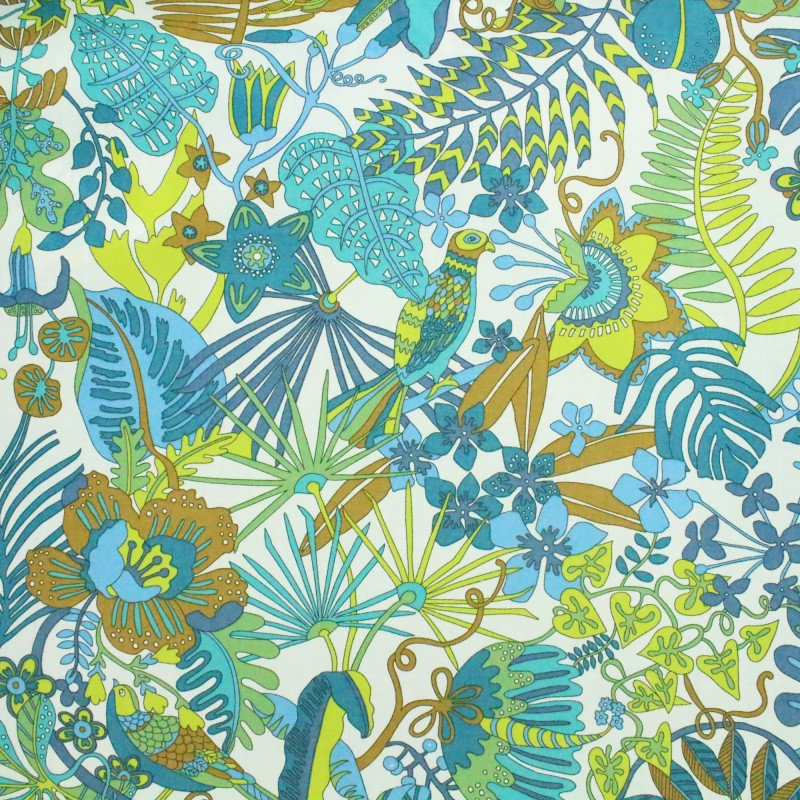 tissu liberty tropical trails b. Black Bedroom Furniture Sets. Home Design Ideas