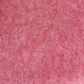 Tissu Feutrine chiné rouge x 10cm