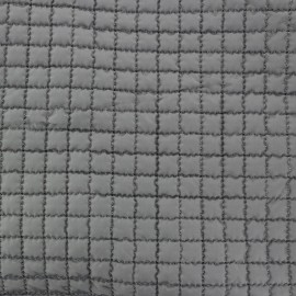 ♥ Coupon 150 cm X 150 cm ♥ Quilted Lining Fabric - Grey