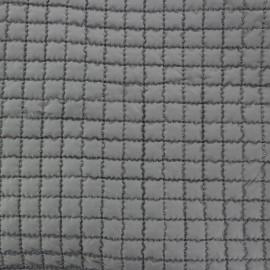 ♥ Coupon 150 cm X 150 cm ♥  Tissu doublure matelassée - gris