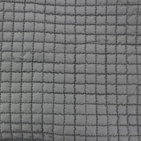 Tissu doublure matelassée - gris x 10cm