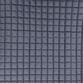 ♥ Coupon 170 cm X 150 cm ♥  Tissu doublure matelassée - bleu marine
