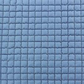 ♥ Coupon 10 cm X 150 cm ♥ Tissu doublure matelassée - bleu lavande