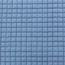 Quilted Lining Fabric - Lavander blue x 10cm