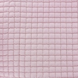 Tissu doublure matelassée - rose clair x 10cm