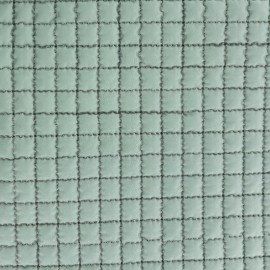 ♥ Coupon 300 cm X 150 cm ♥ Tissu doublure matelassée - vert