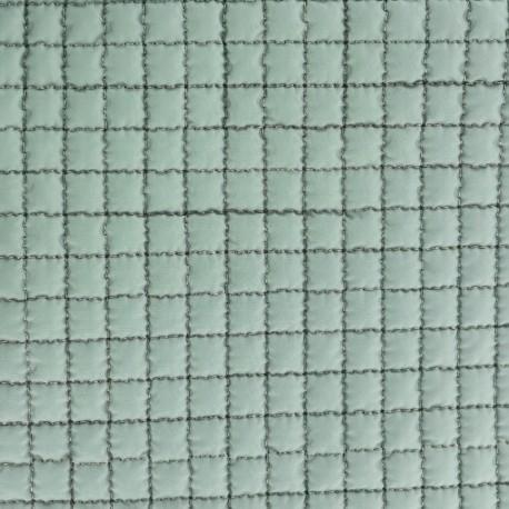Tissu doublure matelassée - vert x 10cm